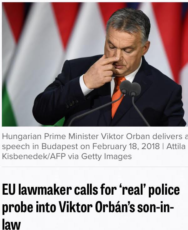 Az EP költségvetési bizottságának néppárti elnöke valódi nyomozást vár a Tiborcz-ügyben