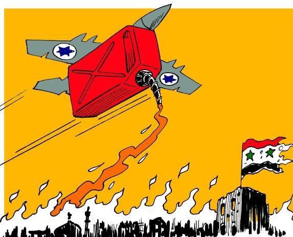 Olajat a tűzre: Izrael Szíria-politikája