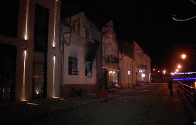 Felgyújtották a Kárpátaljai Magyar Kulturális Szövetség  székházát