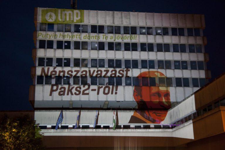 Az LMP feljelent a paksi hitelcsere miatt