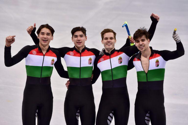 Megvan Magyarország első téli olimpiai győzelme – videó