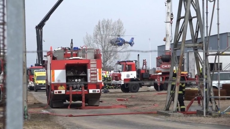 Halálos áldozatokkal járó robbanás egy csehországi vegyi üzemben