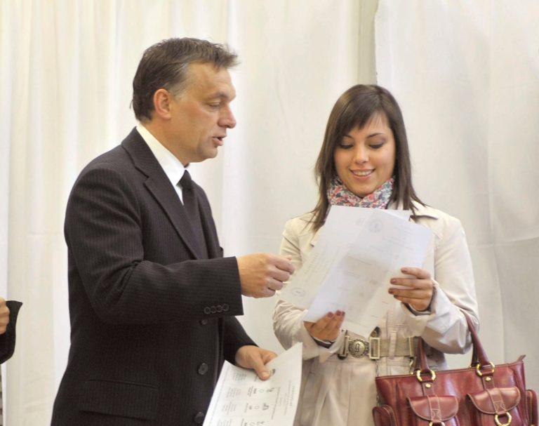 Orbán Viktor lányától loptak Franciaországban