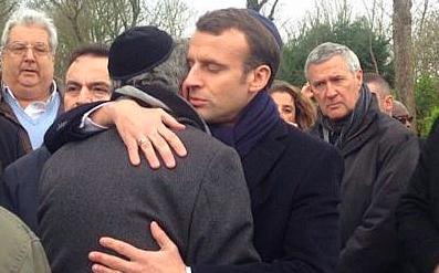 Ezrek vesznek részt az antiszemitizmus elleni párizsi tiltakozó menetben