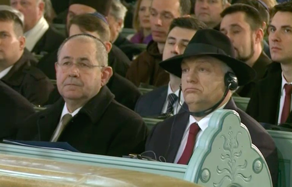 A szabadkai zsinagóga megnyitása Orbánnal és majdnem zsidók nélkül