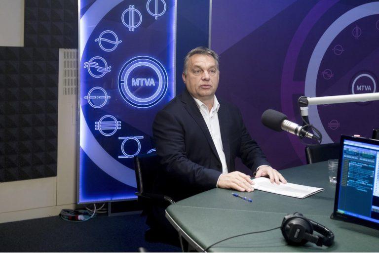 Orbán: A Stop Soros a saját bicepszünket is erősíti