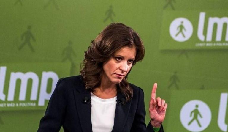 Szél Bernadett az ellenzék jelöltjét támogatja Újpalotán
