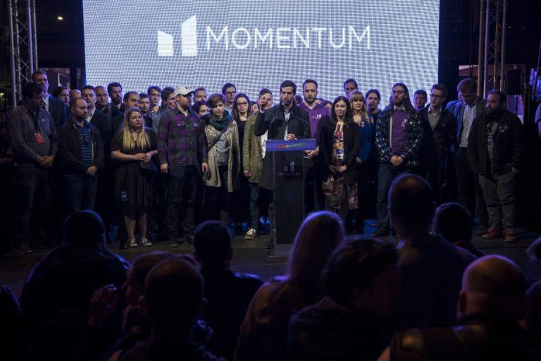 A NOlimpiától a 3 százalékig – Ez volt a Momentum bő egy éve