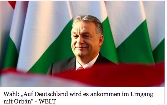 """Die Welt: """"Orbán egy pitiáner szellem…"""""""