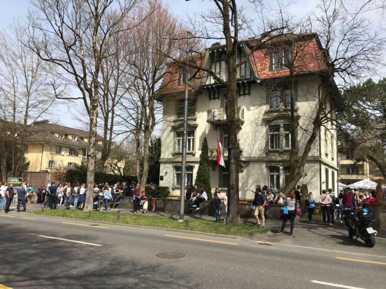 Így szavaznak Bernben