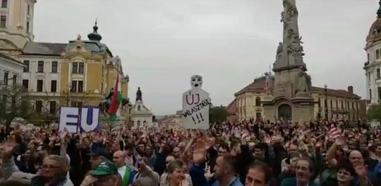 Forrong a vidék is – tüntetések a hétvégén