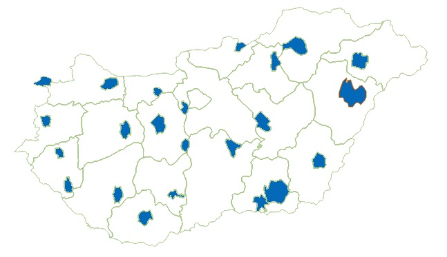 Választási hírek – Megyei jogú városok