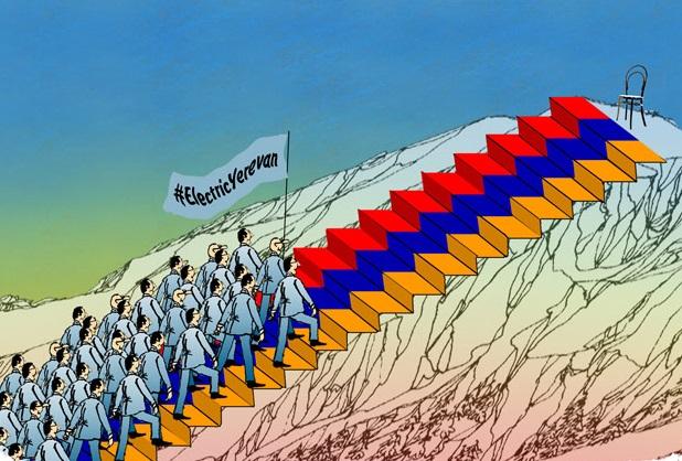 Vigyázó szemetek Jerevánra vessétek! – Kormányfőválasztás Örményország