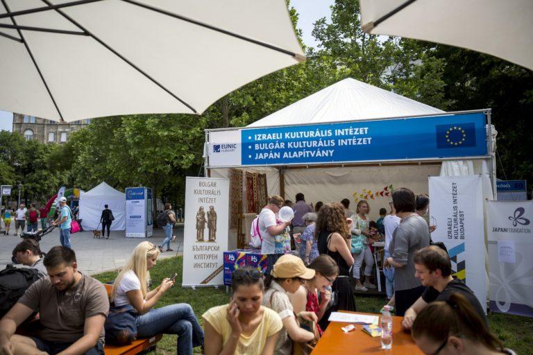Több ezren ünnepelték Európát Budapesten