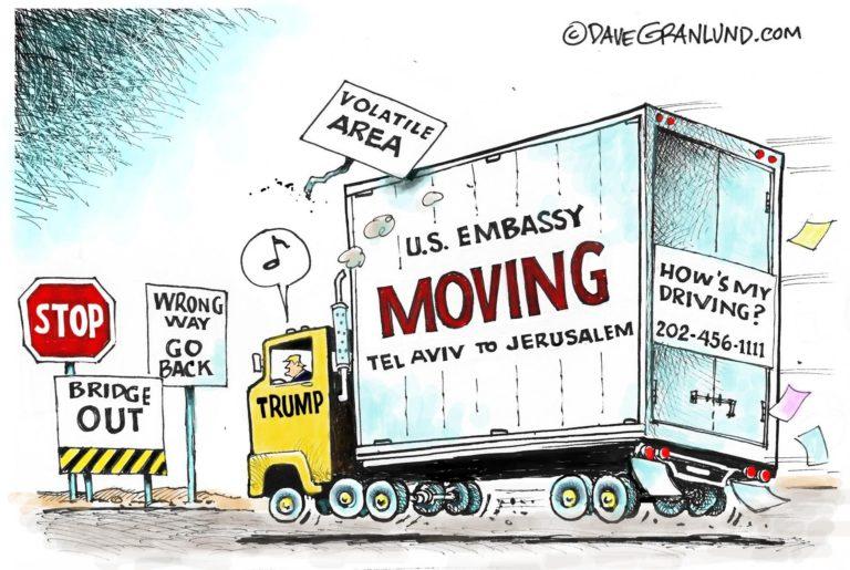 Költözési hullám – Ezek az országok teszik át a nagykövetségüket Jeruzsálembe