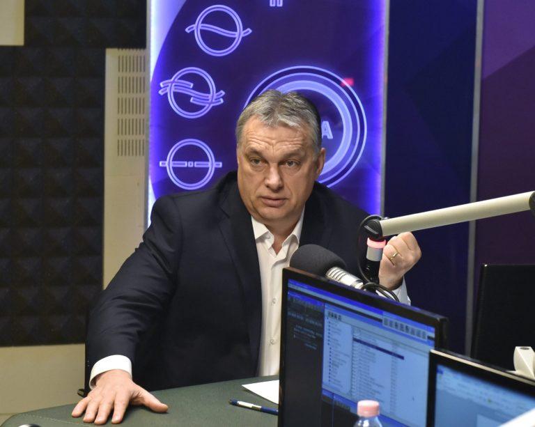 Orbán: Szép és kifinomult a Stop Soros