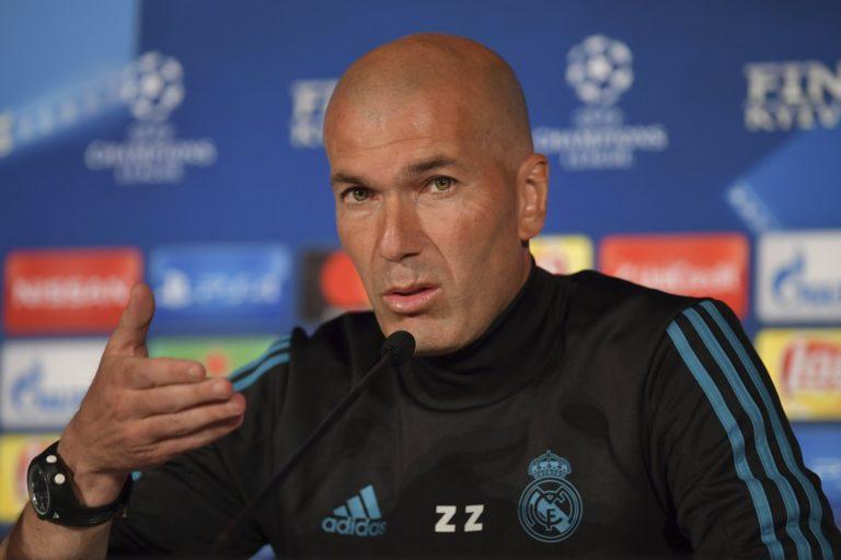 Váratlan bejelentés: távozik Zidane a Real Madrid éléről