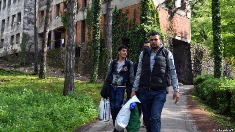 Migránsok a Balkánon