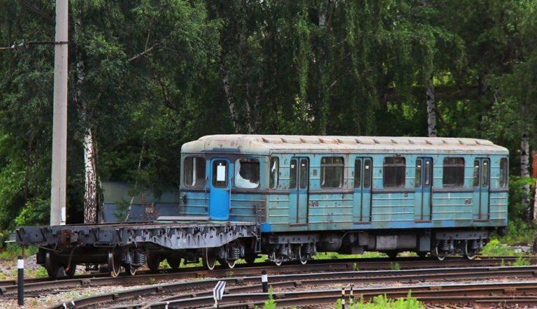 Furcsa helyen bukkant fel egy magyar metrókocsi