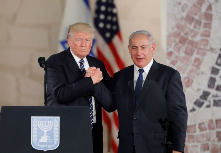 Trump mellett kampányol Netanjahu Európában