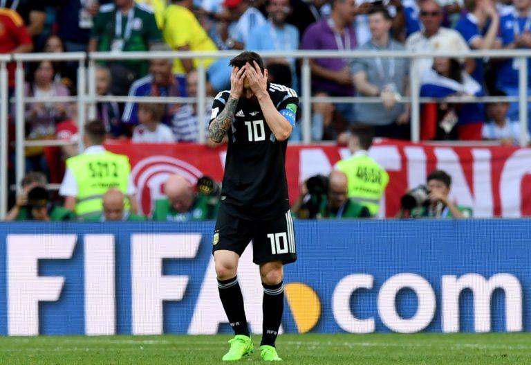 Messinek meggyűlt a baja az izlandiakkal