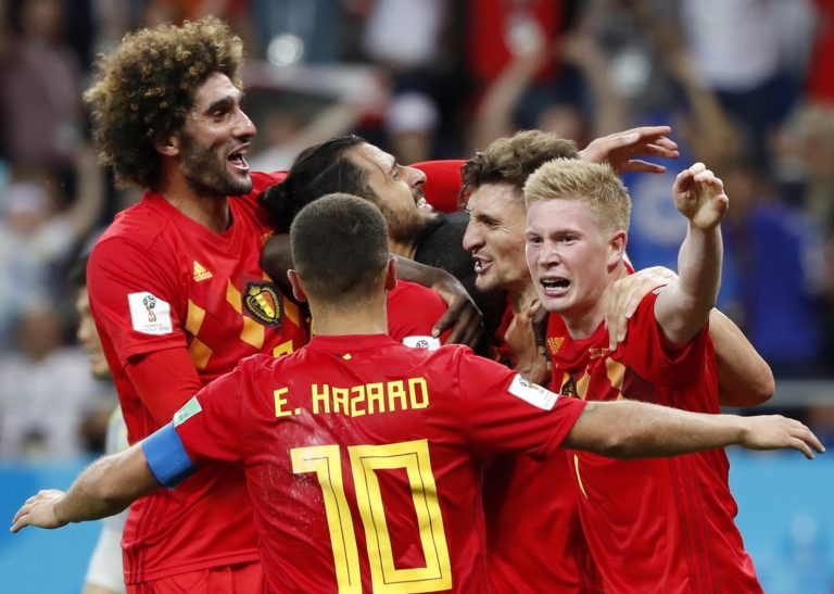 Nagyszerű meccsen verték ki a belgák a brazilokat