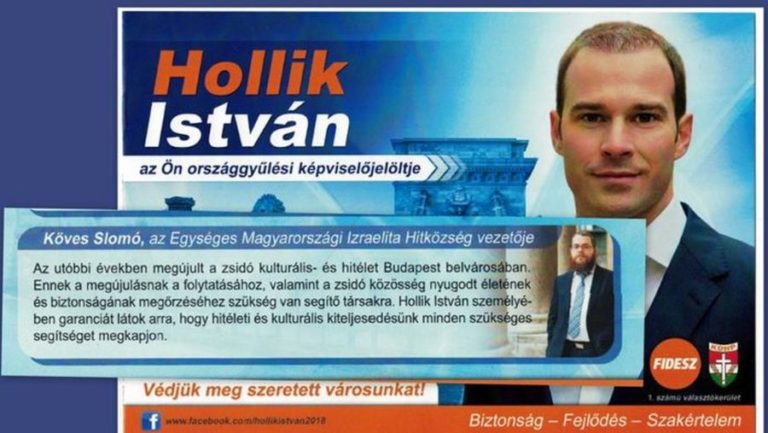 Mit gondol most a vezető rabbi Hollik úrról?