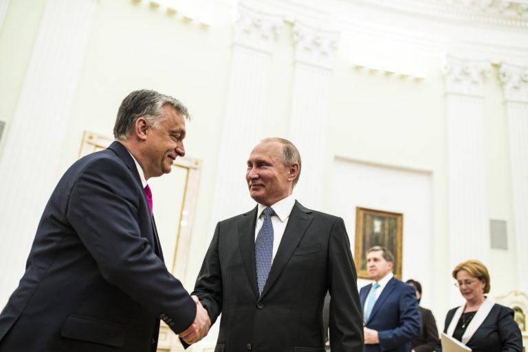 A nap kérdése – Orbán Putyinnál