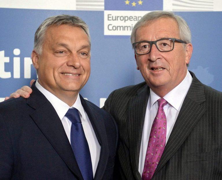 A részeges Juncker levele a mindig józan Orbánhoz