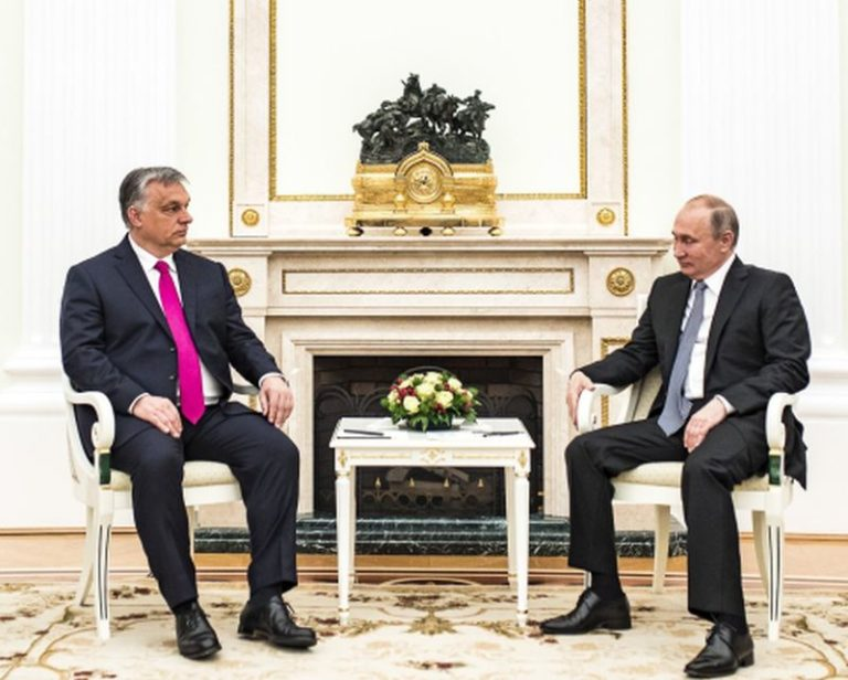 Nem minden részletet vert nagydobra az MTI Putyin és Orbán tárgyalásáról
