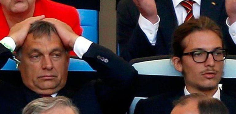 A nap kérdése – Orbán Viktor és Gáspár meccset néz
