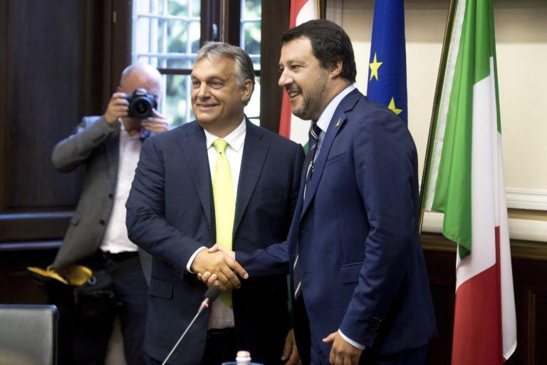 Együtt a putyini Oroszország felé – a világsajtó a Salvini-Orbán találkozóról