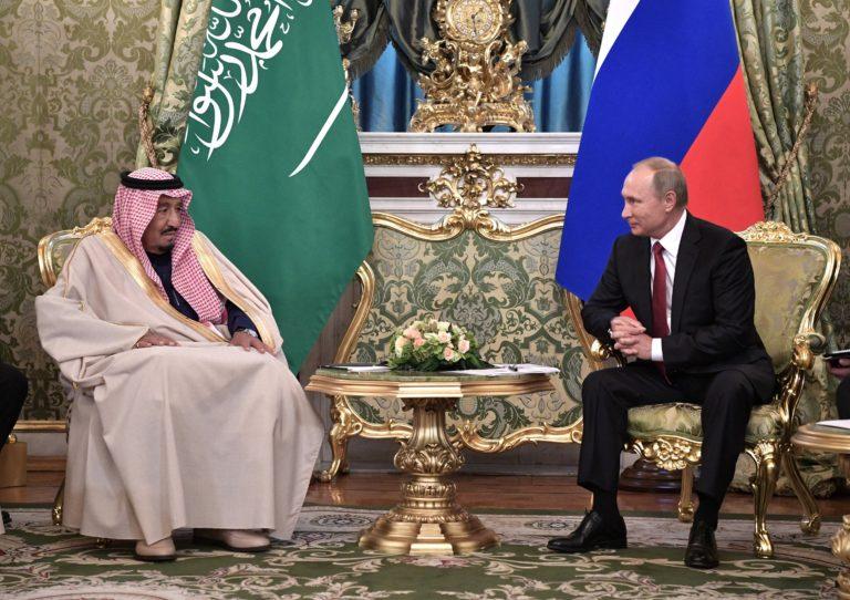 Szaúd-Arábiába látogat Putyin