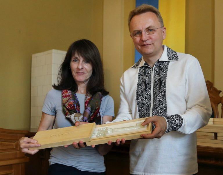 Először emlékeztek meg Lvivben a zsidók kiirtásáról