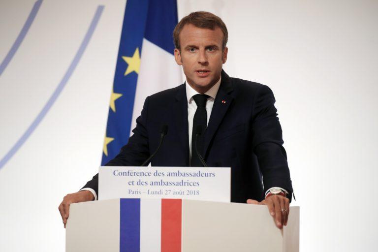 Macron Párizs legnagyobb zsinagógájában köszöntötte a zsidó újévet