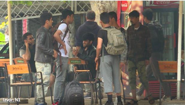 3 ezer körül vannak menekültek Szerbiában