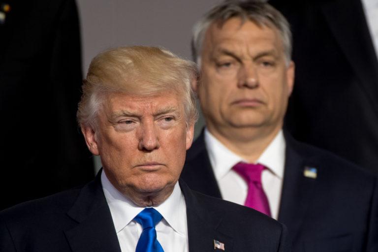Donald Orbán és Trump Viktor