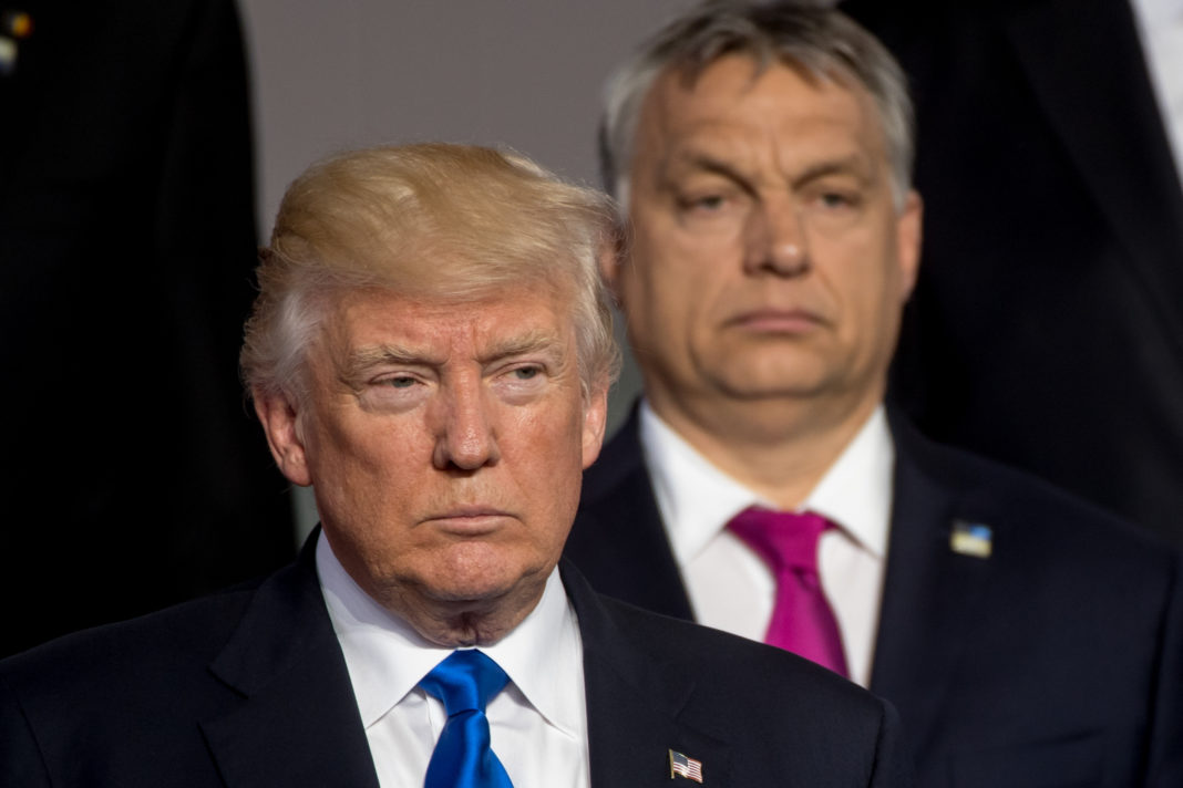 Trump magához hívatta Orbán Viktort