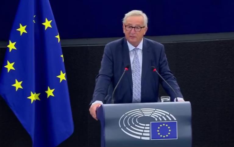 Juncker évértékelője Strasbourgban