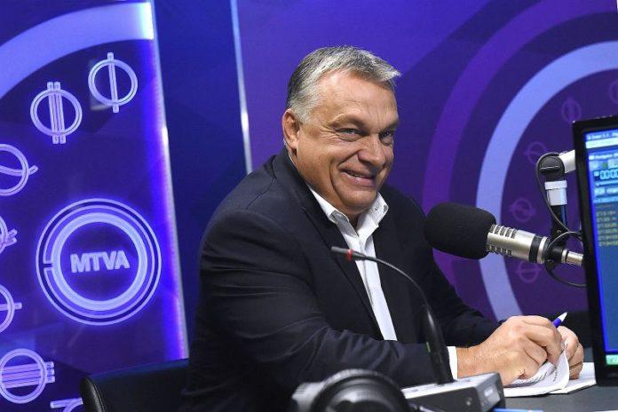 Orbán a rádióban