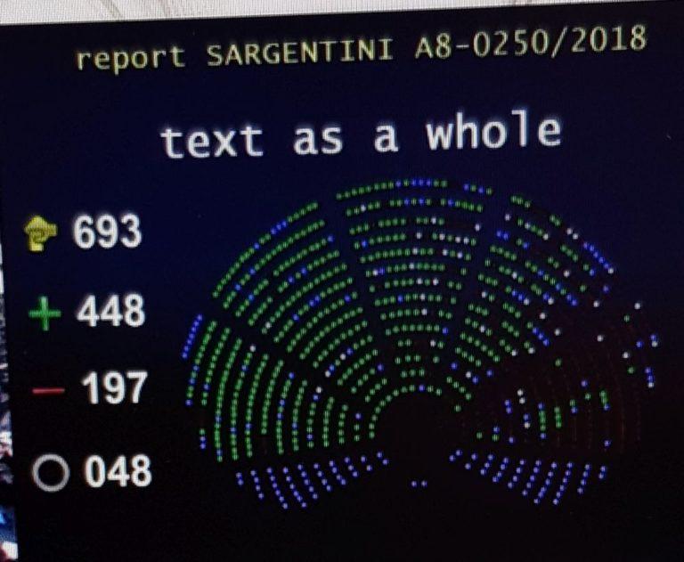 Elfogadták a Sargentini-jelentést