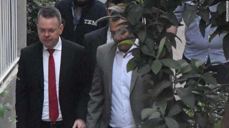 A törökök szabadon engedték Andrew Brunson tiszteletest