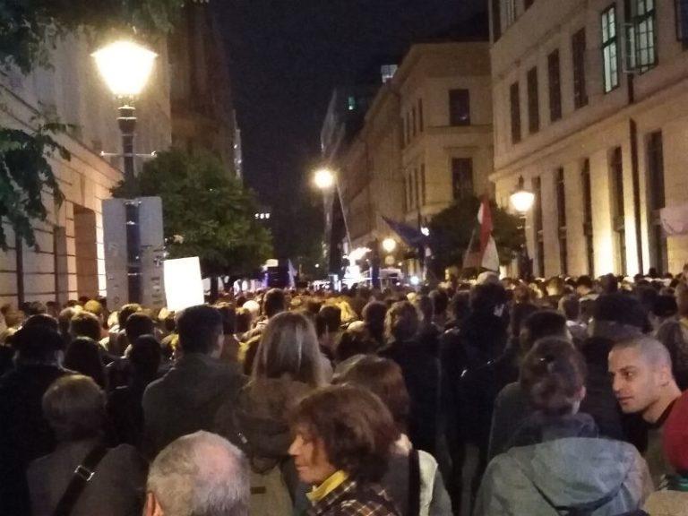 CEU-tüntetés után: tessék többen lenni!