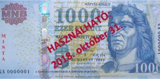 ezer forintos