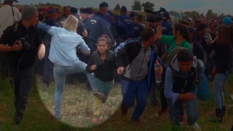 Menekült gyereket rugdosni nem kell félnetek…