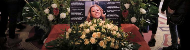 Eltemették a meggyilkolt bolgár újságírónőt