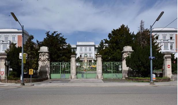 Egy felújított kórház a CEU bécsi otthona