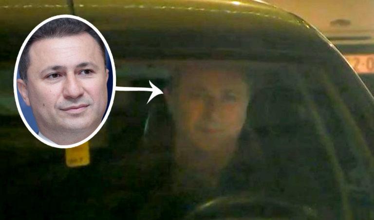 Gruevszki vezette az albániai magyar nagykövetség autóját – fotó bizonyítja