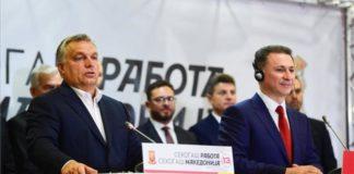 Orbán, Gruevszki
