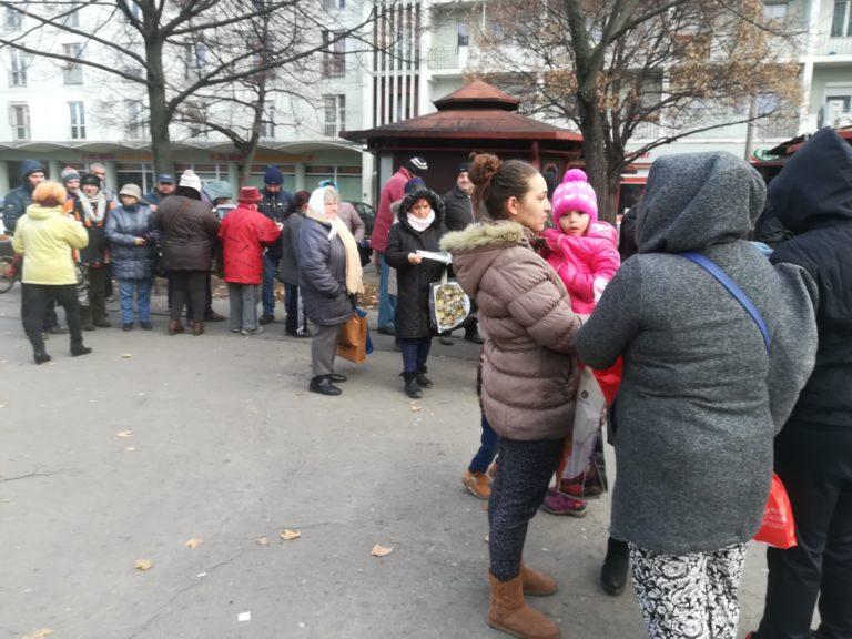Nincstelenek karácsonya Debrecenben